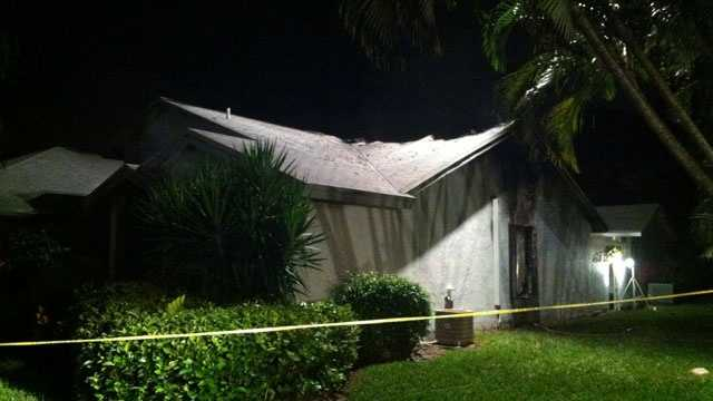 An 86-year-old man was found dead inside this Delray Beach home after an early morning fire.