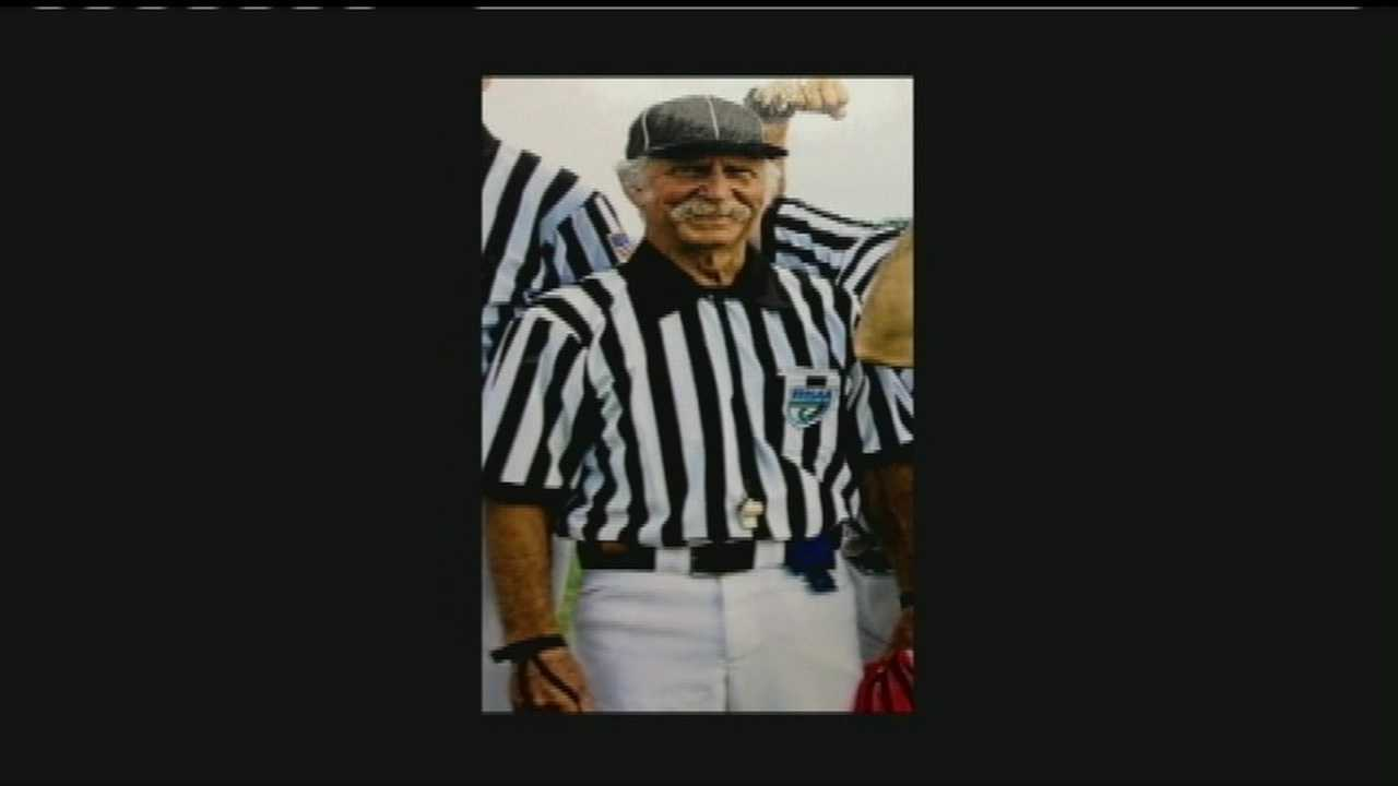 High school referee Jerry Lohmann collapsed and later died during a game at Olympic Heights High School in Boca Raton.