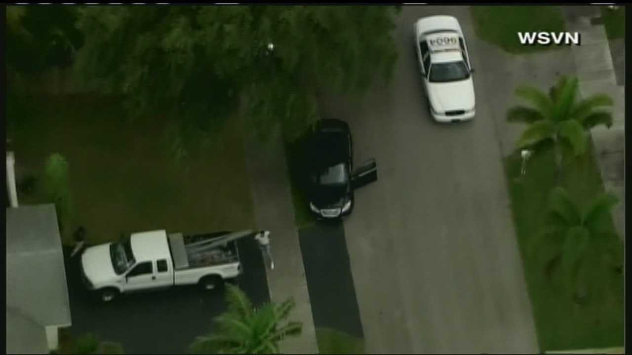 Three suspects were taken into custody in Fort Lauderdale after a home-invasion robbery on Tuesday.