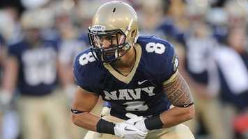 Wave Ryder is riding a wave of success after starting six games at free safety last season. The senior cadet finished with 53 tackles and an interception for the Midshipmen in 2012 and is expected to start again this fall.