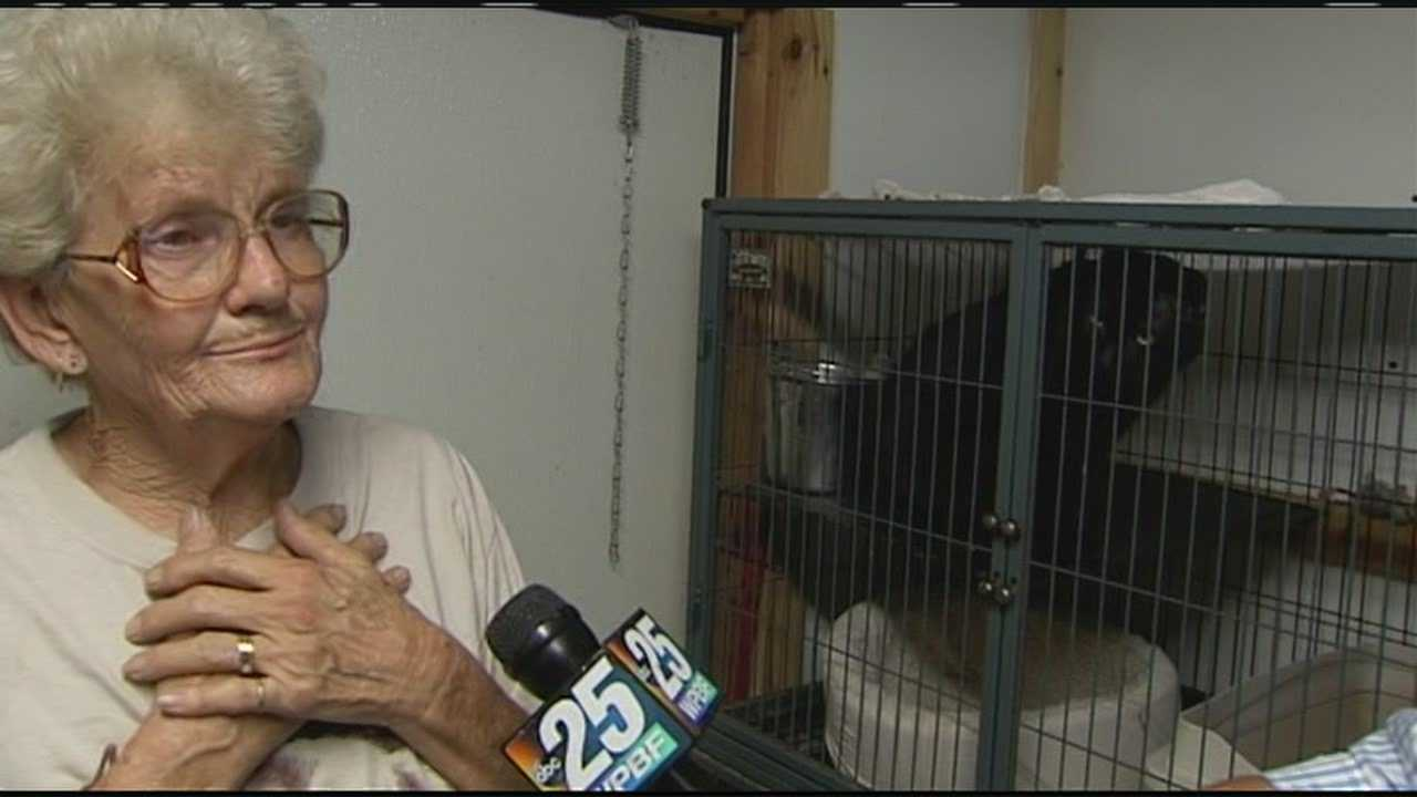 """Rosa Harding, founder of All Pet Rescue, says she's """"scared to death"""" about what will happen to the animals when she has to move."""
