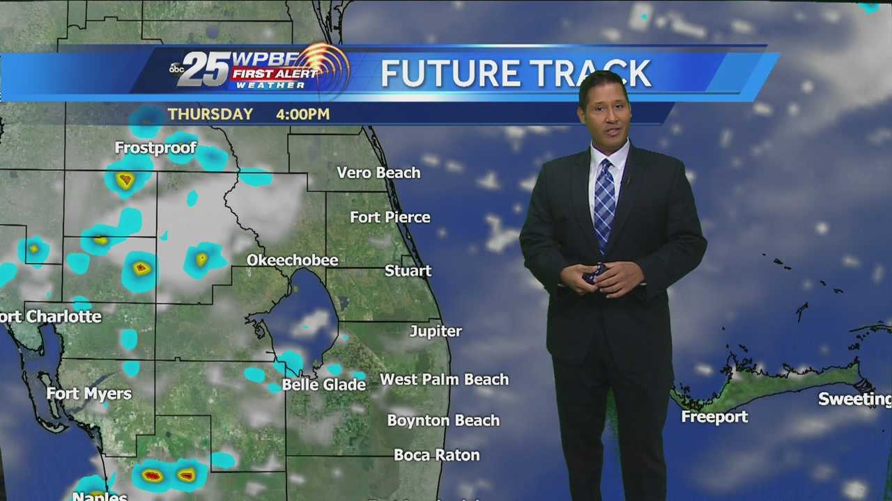 Cris says another hot and humid day is on tap around South Florida.