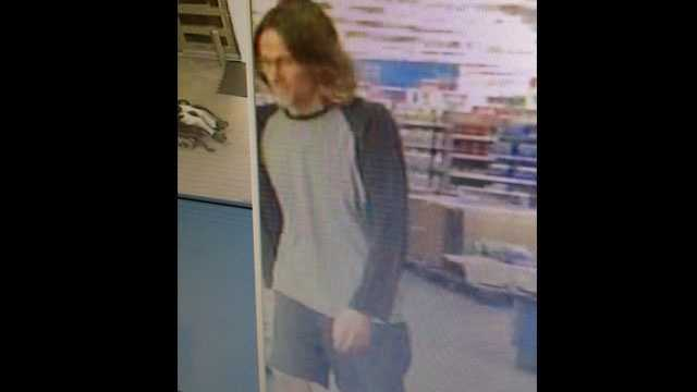 Police say this is the man who flashed a woman in the toy aisle at a Walmart in Port St. Lucie.