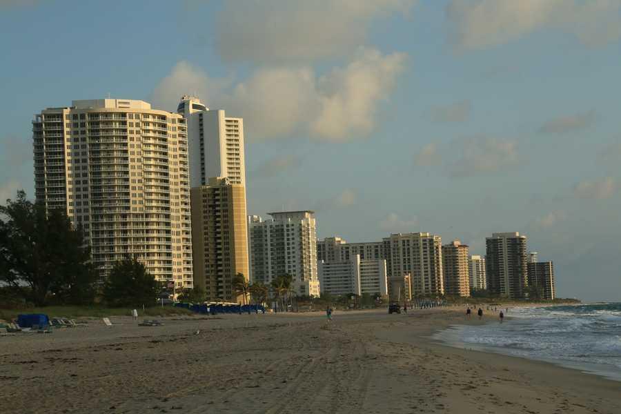 6. Singer Island Beach