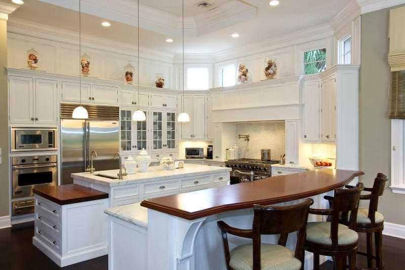 The kitchen is a chef's dream.