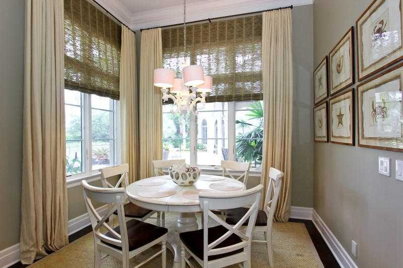 Enjoy great views while you're enjoying your breakfast in this charming nook.