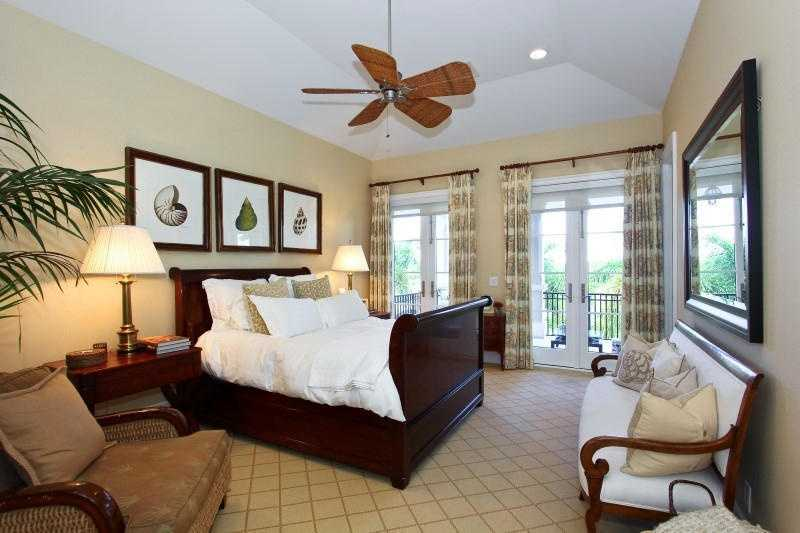 One of four remaining guest bedrooms. This room has it's own private balcony.