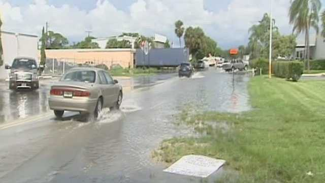 Flooding has been a major problem for businesses on the wrong side of Indian Road.