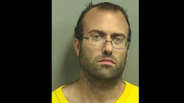 Brendan Giusti is accused of ramming a woman's SUV in a Publix parking lot while her 8-year-old son was in the back seat.