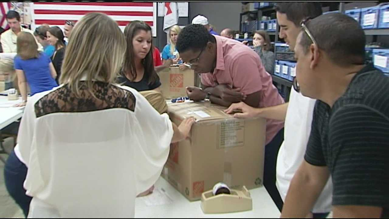 Forgotten Soldiers Outreach in Lake Worth has started a new campaign in honor of the Sept. 11 victims.