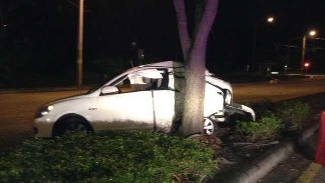 Carol Velasco was killed in a three-vehicle crash Saturday night in Boca Raton.