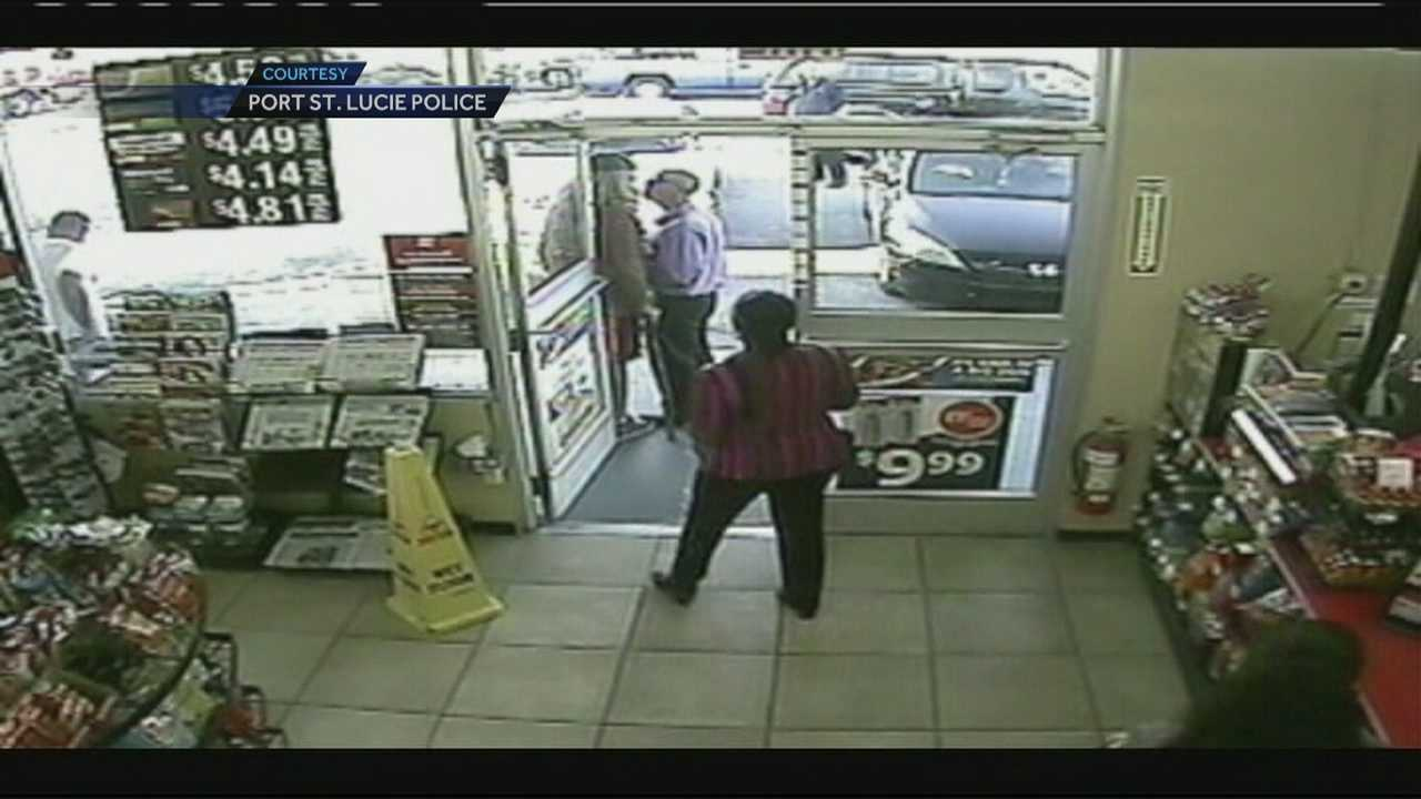 Store surveillance video cameras were rolling when a man caused quite the confrontation at a local Circle K store.
