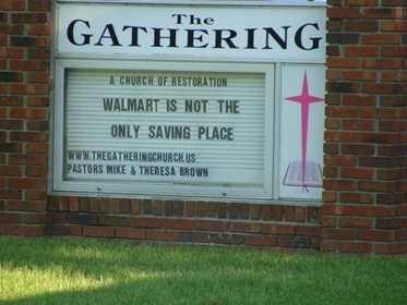 The home also is directly across the street from The Gathering Church.