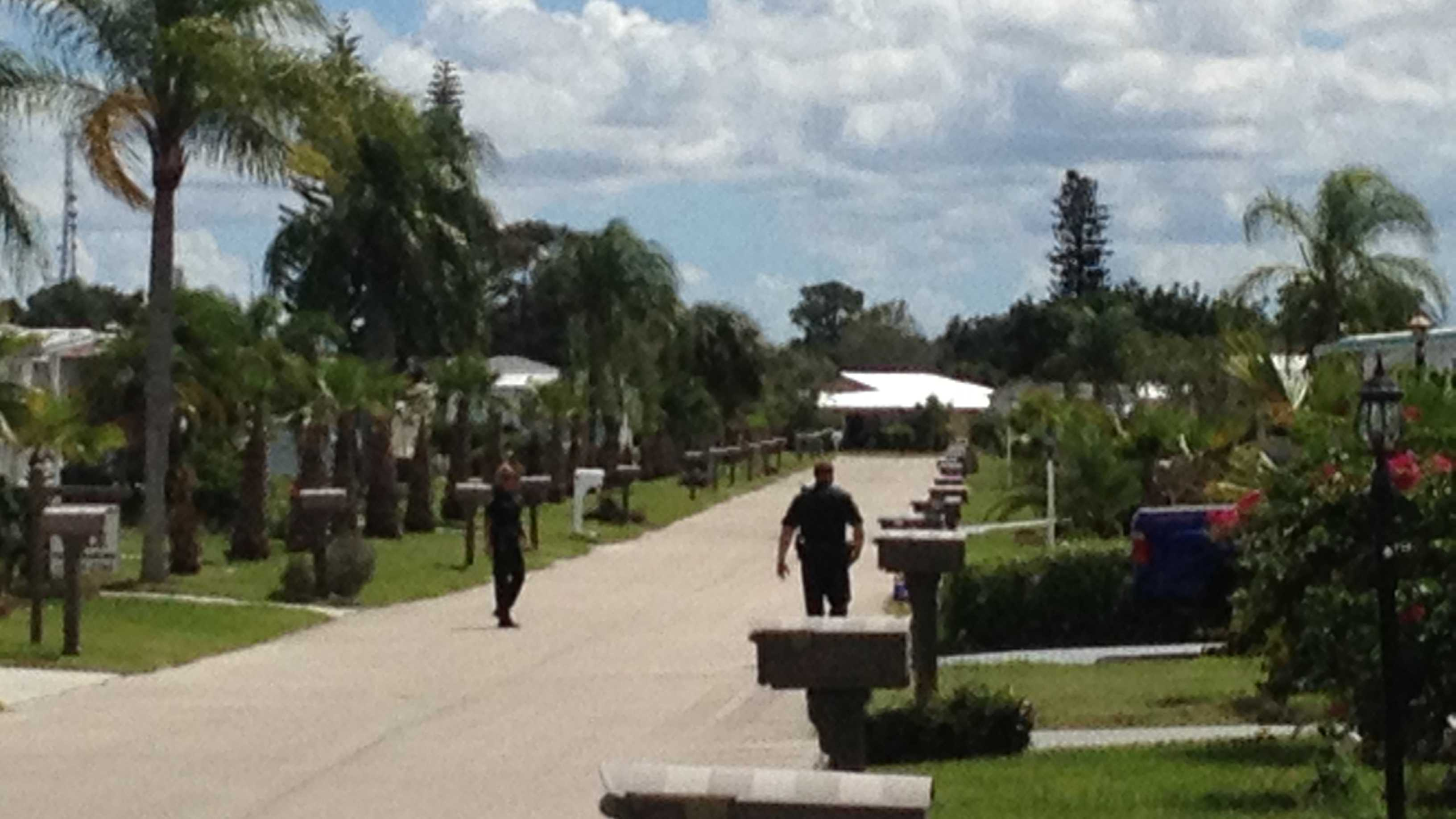 Deputies went door to door in a Port St. Lucie mobile home park to find out how many residences had been burglarized.