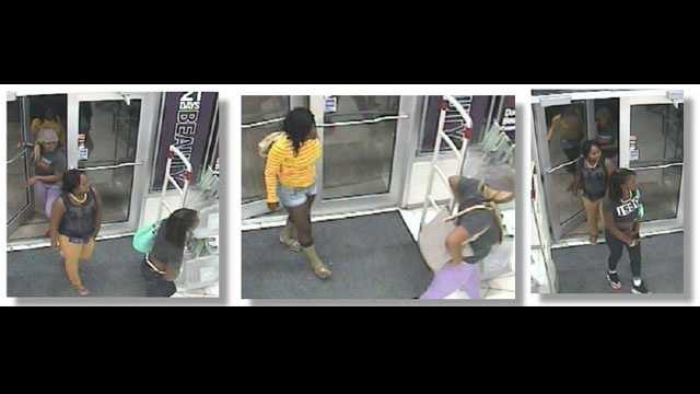 Police in Port St. Lucie are trying to identify these perfume-stealing women.