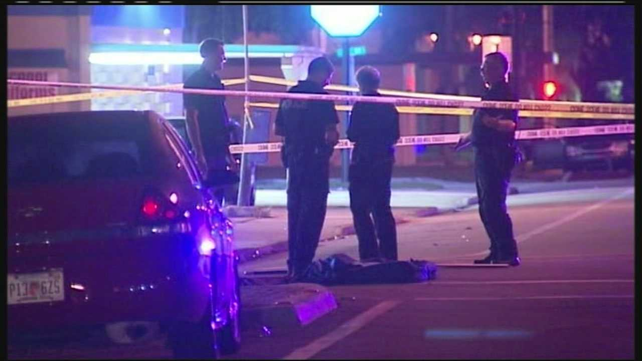 A 28-year-old man is found shot to death on Tamarind Avenue, and police are still searching for the shooter.