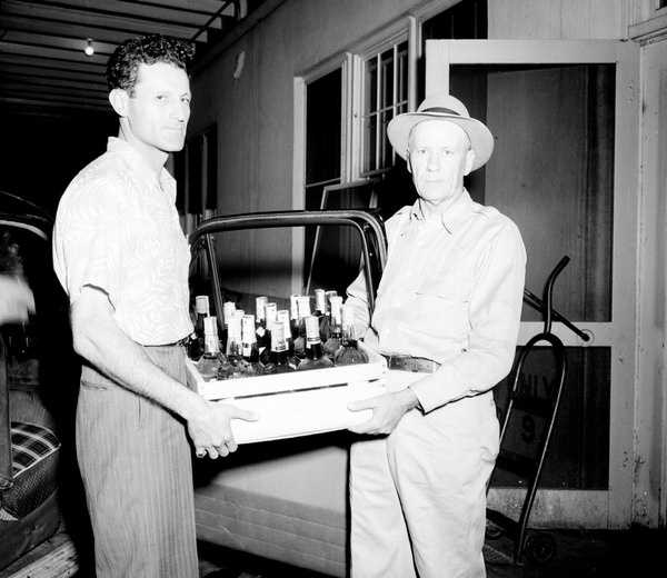 1949: Officials raid Tallahassee home over moonshine.