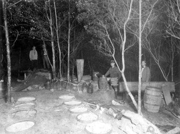 During Prohibition, Florida was a hot spot for bootleggers, moonshiners and rum runners, because of its vast coastline.
