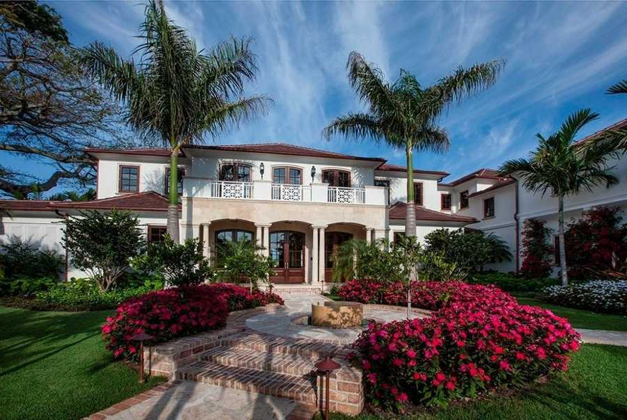 The magnificent home is an impressive 14,251 sq. ft.
