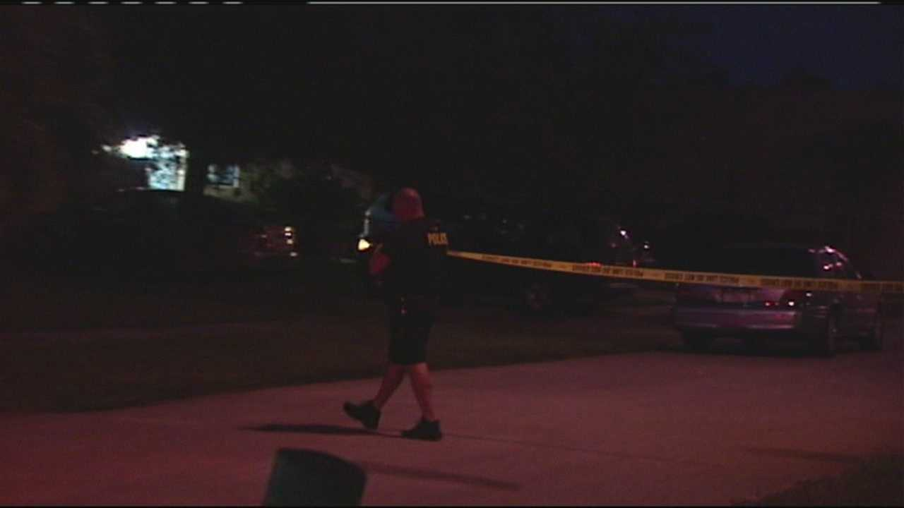 A teenager was found at the bottom of a pool at a Lantana home Wednesday night.