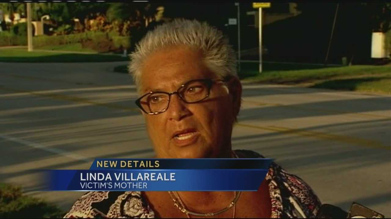 Linda Villareale says her 8-year-old granddaughter was the one to call to tell her that the girl's father had just killed her mother.
