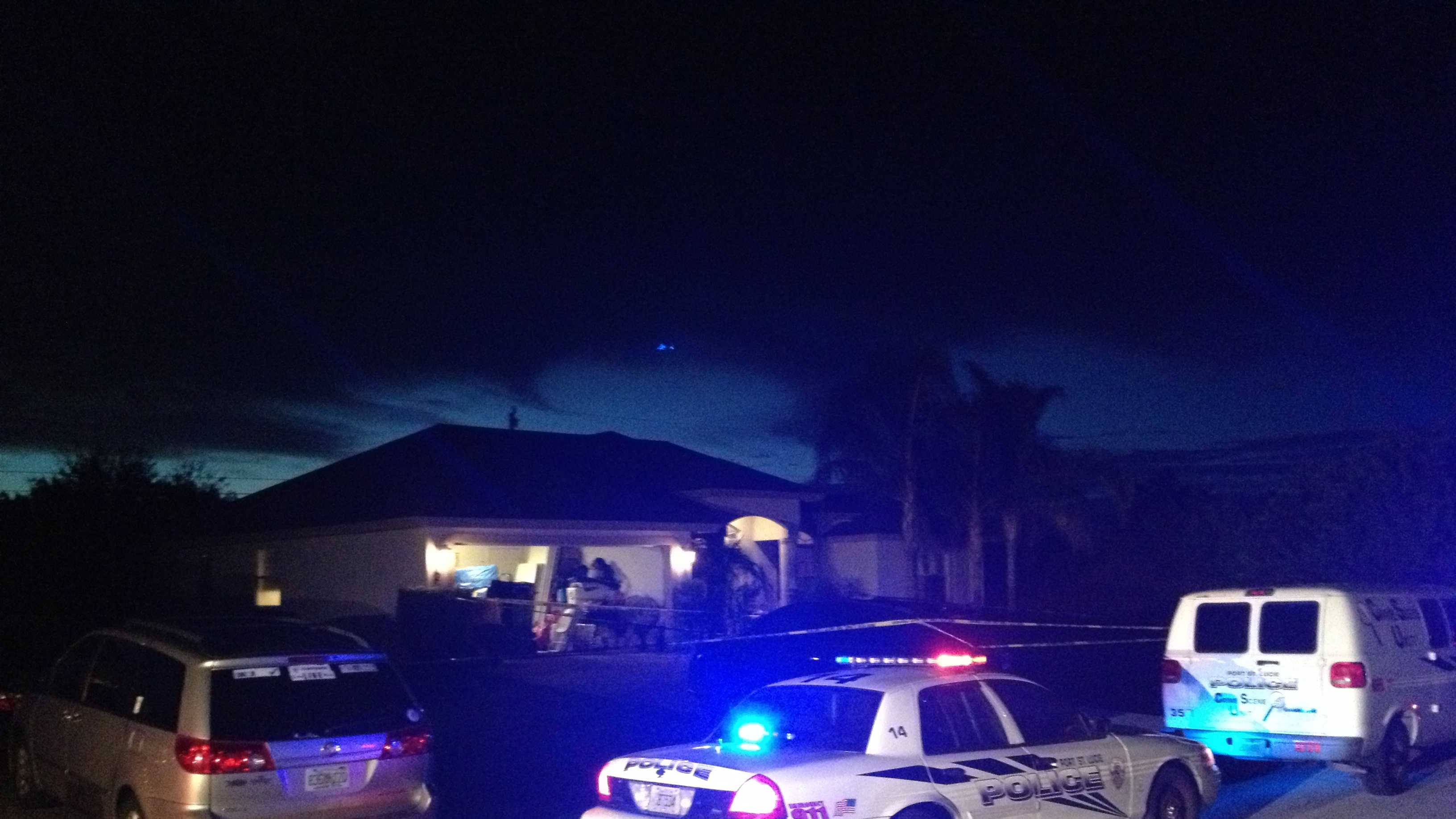 Police investigate the death of Alisa Kerman at her Port St. Lucie home.