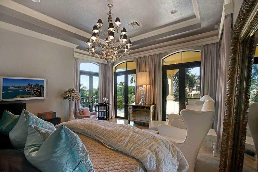 Expansive, second floor master bedroom.