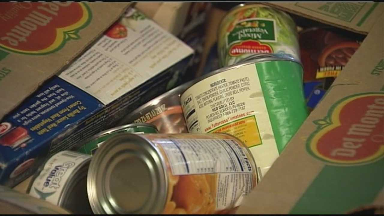 More veterans might be turning to food banks because of cuts to their food stamps.