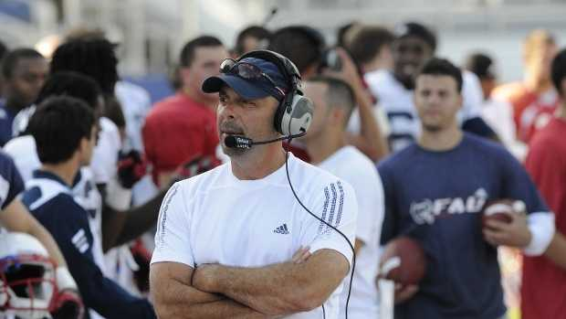 FAU athletic director Pat Chun announced the resignation of head football coach Carl Pelini.