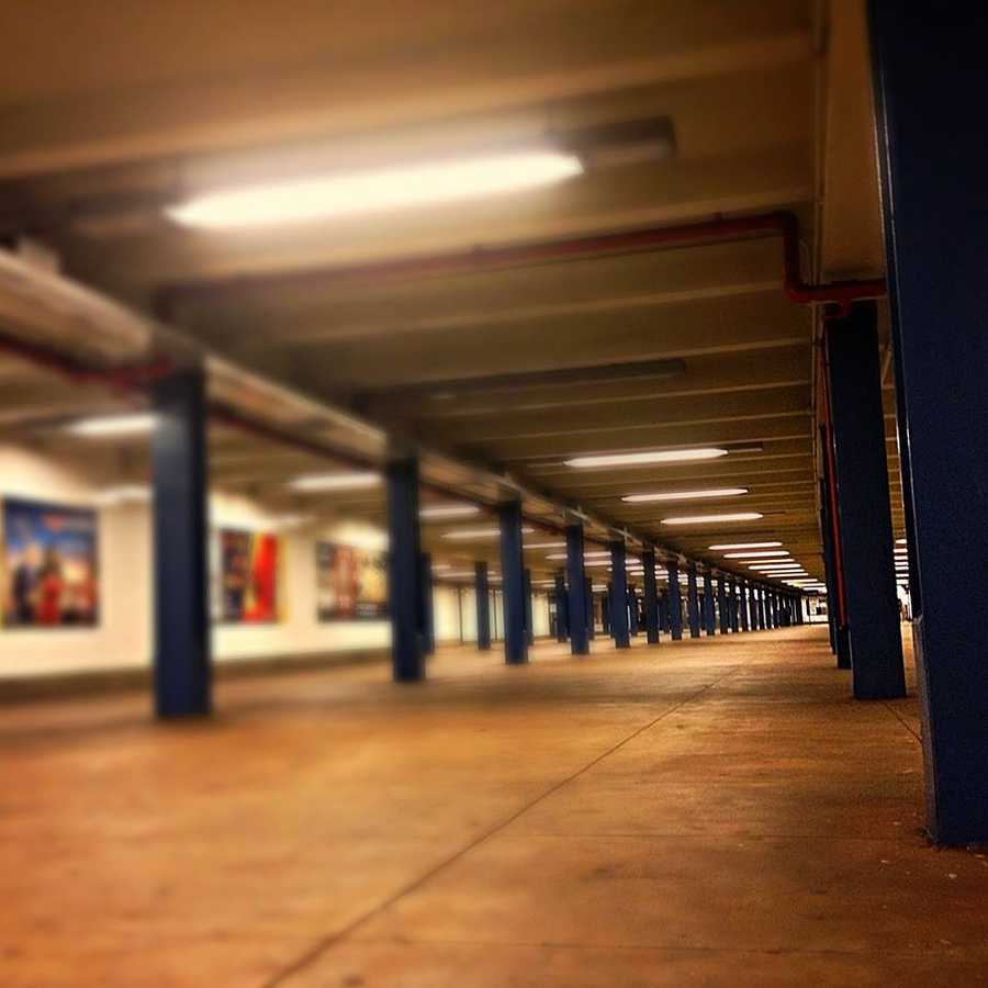 If you ever want to take a picture an empty train station, be sure to get lost way out in Queens at 3 a.m.
