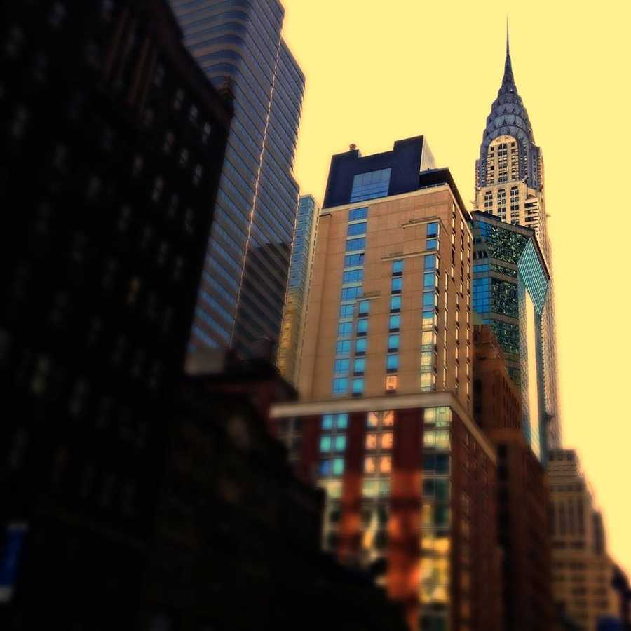 Another shot of the Chrylser building.