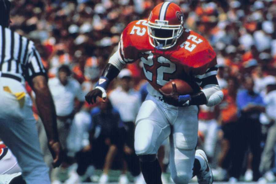 No. 7: Emmitt Smith, RB, Florida (1987-89)