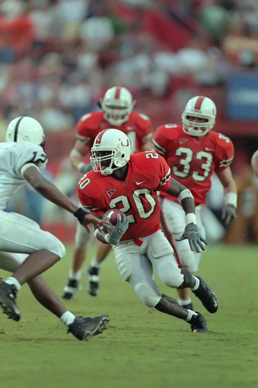 6. Ed Reed, S, Miami (1997-2001)