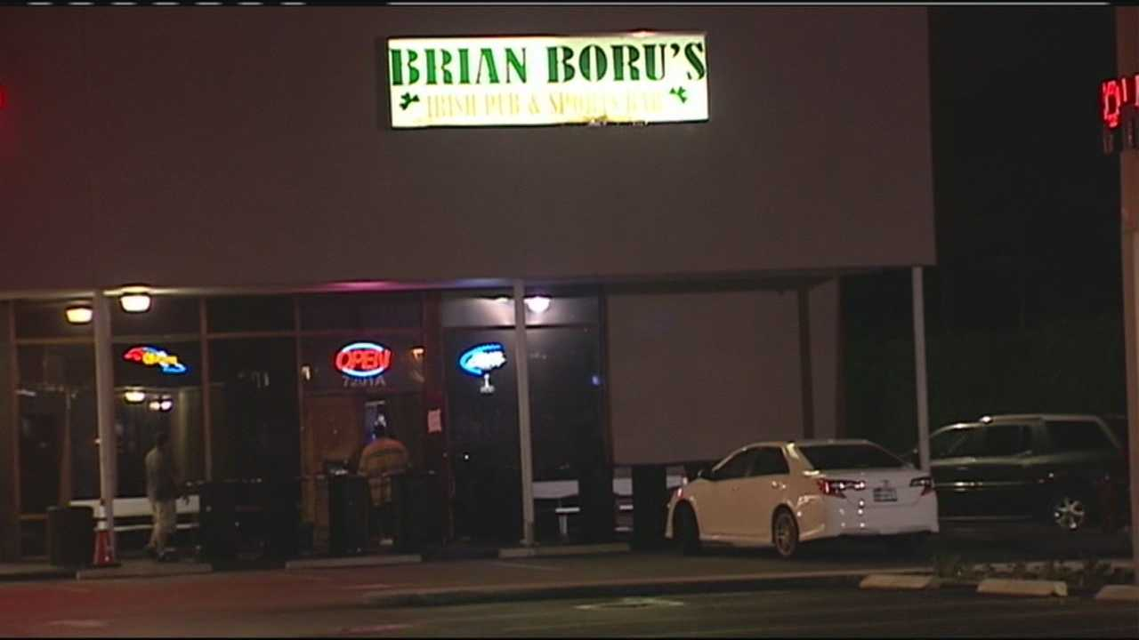 A 21-year-old man is shot and killed during a fight at a sports bar in Lake Worth.