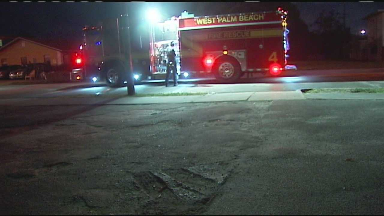 Four adults and two children have been displaced after an apartment fire in West Palm Beach.