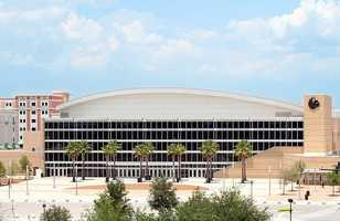 5. University of Central Florida (enrollment 56,465) - 26 violent crimes, 402 property crimes for a total of 428 offenses