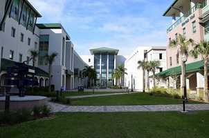 10. Florida Gulf Coast University (enrollment 12,651) - Three violent crimes, 81 property crimes for a total of 84 offenses