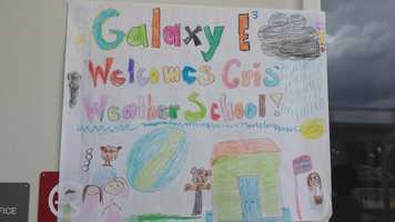 NOV. 13: Cris visited Galaxy Elementary School in West Palm Beach.