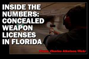Take a look at the number of concealed-weapon licenses that have been granted in Florida. (Source: Florida Dept. of Agriculture & Consumer Services, Division of Licensing)