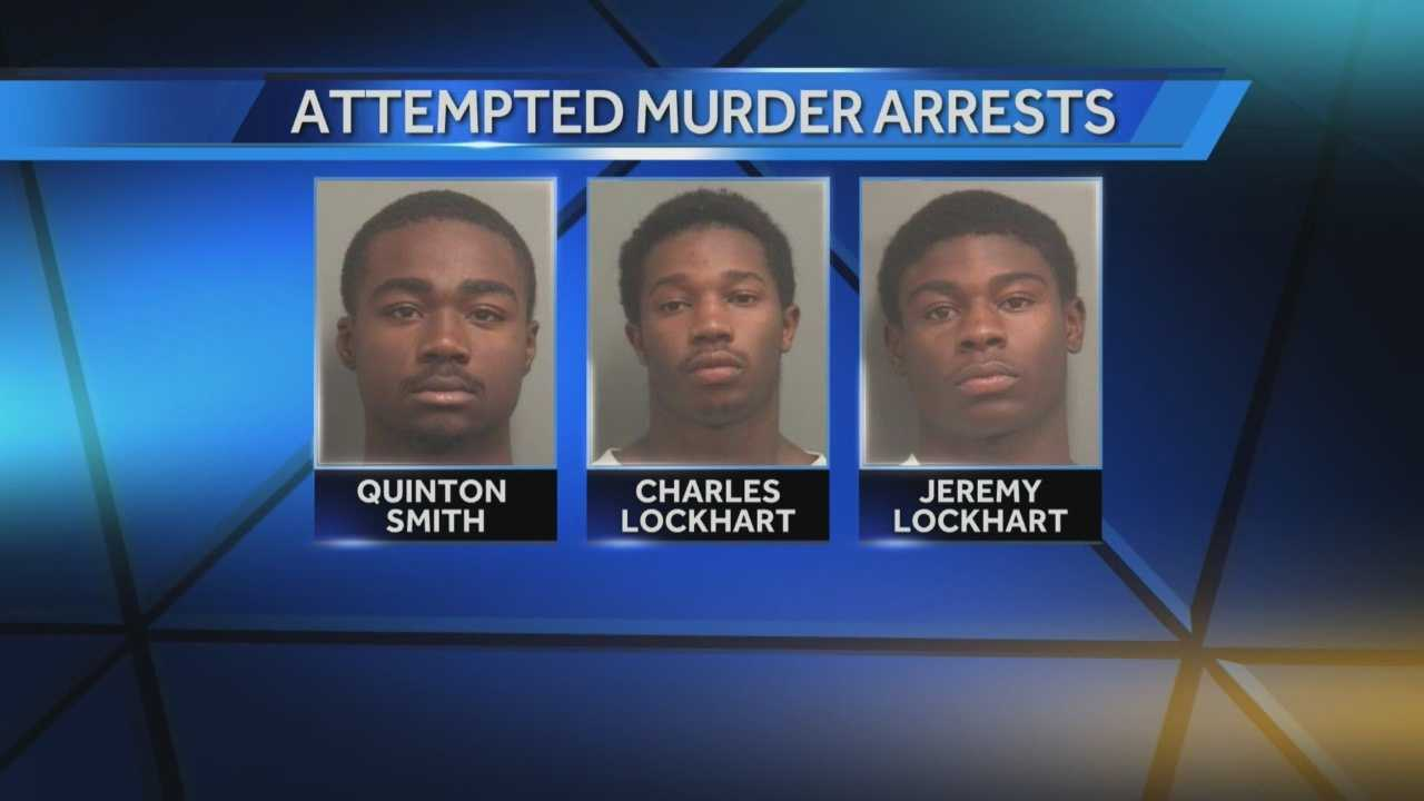 Three men were denied bond Friday following a shooting in late October.