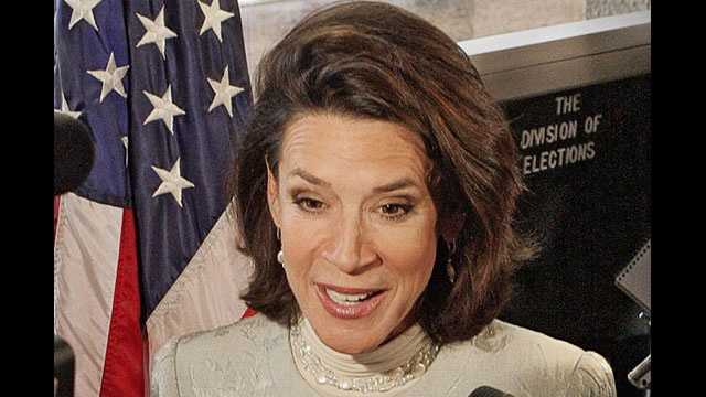Katherine Harris, seen here in 2006, served as Florida's Secretary of State during the controversial presidential election of 2000.