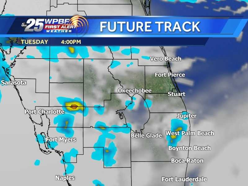 Check out the WPBF First Alert Future Track to see when wet weather might reach your area.