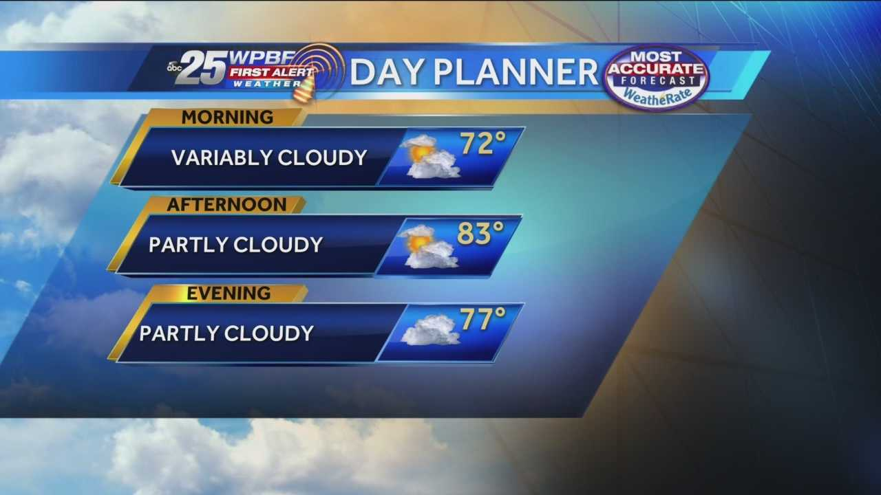 Sandra Shaw has your First Alert Forecast for the morning of Nov. 22, 2013.