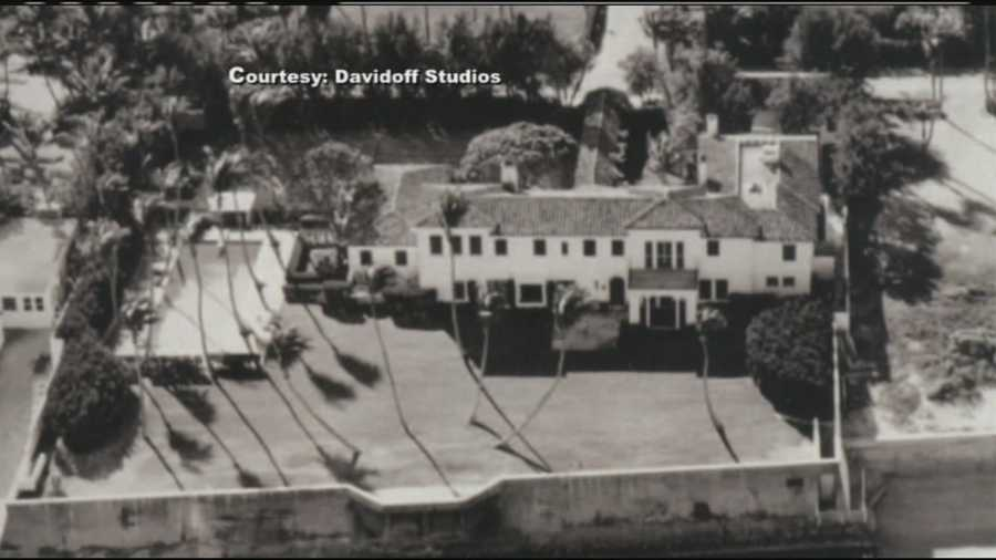This is the Kennedy estate as it looked when Joe and Rose Kennedy bought it in 1933.