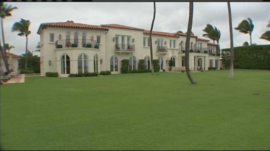 """President John F. Kennedy spent a great deal of time at his family's Palm Beach estate, dubbed the """"Winter White House."""" This is where JFK spent his final weekend before his fateful trip to Dallas on Nov. 22, 1963."""