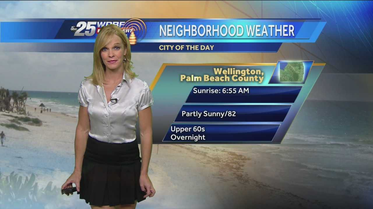 Sandra says to keep your umbrella handy as spot showers will pop up on this mostly sunny Friday.