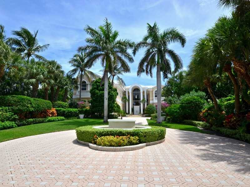 Begin your tour of a spectacular property, fewer than 300 feet from the ocean right now.