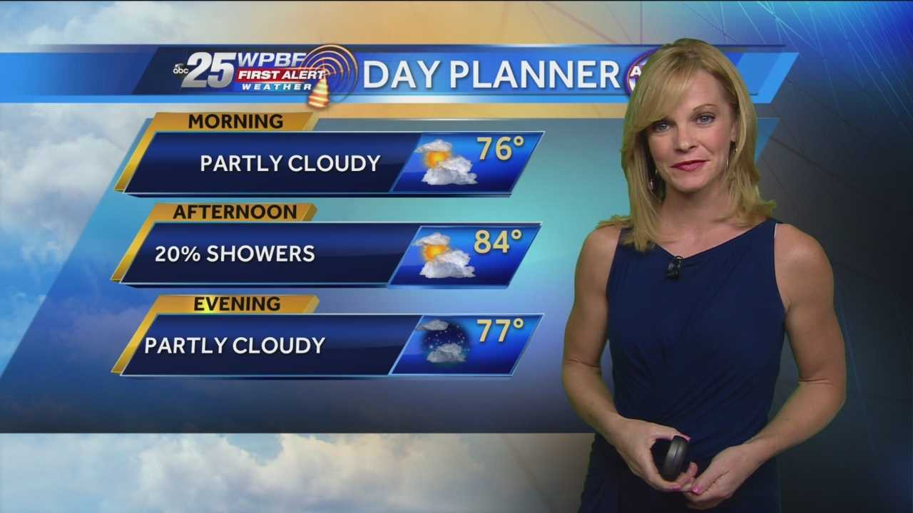 Sandra says Tuesday starts out mild with some patchy fog, but highs will reach into the 80s.