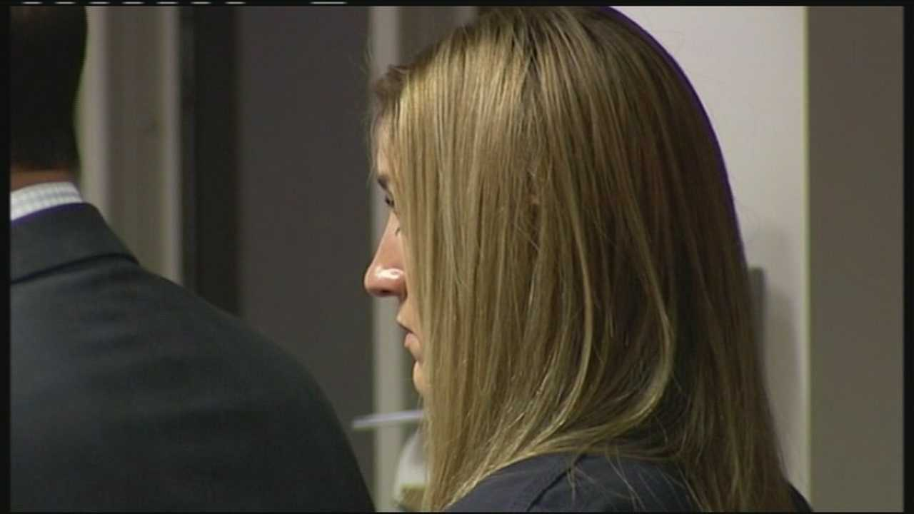 Amanda McClure is charged in the death of a motorcyclist after a night of partying in Palm Beach Gardens.