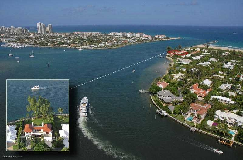 Aerial view shows just how perfect, the home's location truly is.